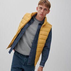Reserved - Prošívaná vesta se stojáčkem - Žlutá
