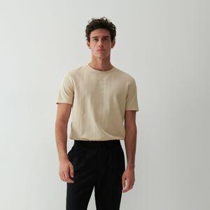 Reserved - Košile se strukturovaným vzorem - Béžová