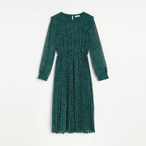 Reserved - Šaty s plisovanou spodní částí - Vícebarevná
