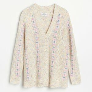 Reserved - Ladies` sweater - Vícebarevná