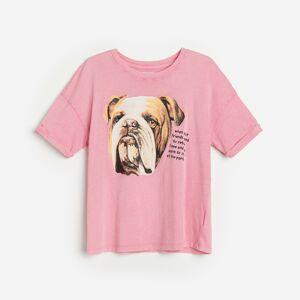 Reserved - Ladies` t-shirt - Oranžová