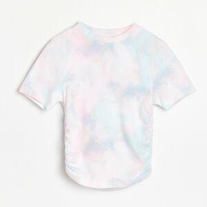 Reserved - Tričko sbatikovaným efektem - Vícebarevná
