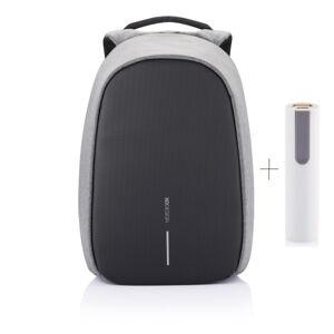 """Bezpečnostní batoh, Bobby Pro, 15.6"""", XD Design, šedý"""