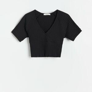 Reserved - Ladies` blouse - Černý