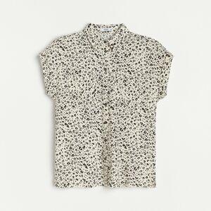 Reserved - Košile zviskózy - Béžová