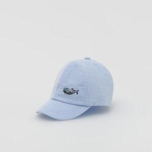 Reserved - Babies` peaked cap - Modrá