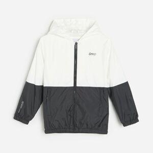 Reserved - Lehká bunda ve sportovním stylu - Bílá
