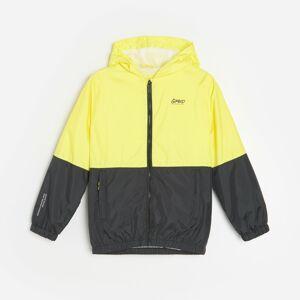 Reserved - Lehká bunda ve sportovním stylu - Žlutá