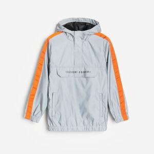 Reserved - Reflexní bunda - Světle šedá