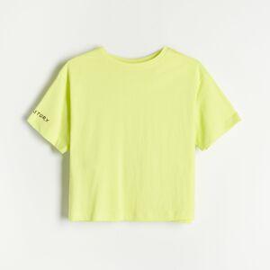 Reserved - Ladies` t-shirt - Zelená