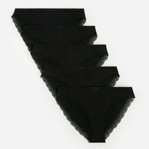 Reserved - Bavlněné kalhotky - Černý