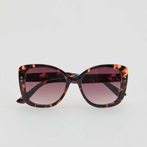Reserved - Ladies` sunglasses - Hnědá