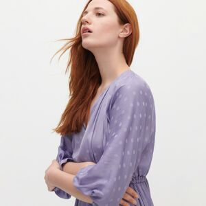 Reserved - Puntíkaté šaty - Fialová