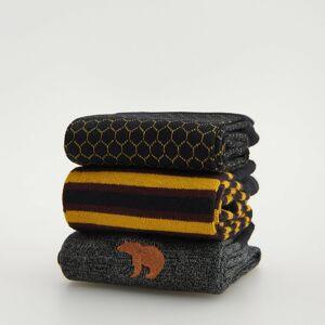 Reserved - 3 pack ponožek - Šedá