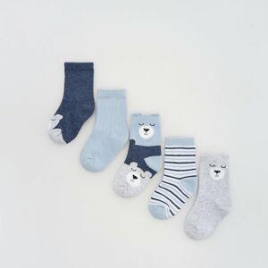 Reserved - Babies` socks multi - Modrá