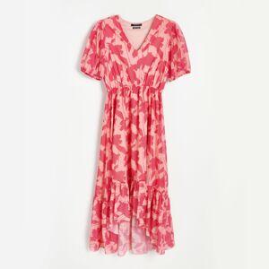 Reserved - Tenké žerzejové šaty - Vícebarevná