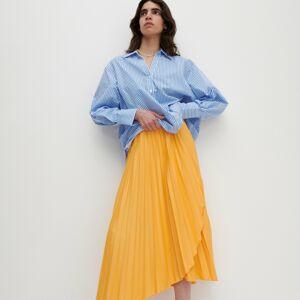 Reserved - Žerzejová sukně - Oranžová