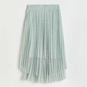 Reserved - Rozšířená midi sukně - Zelená