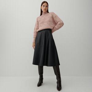 Reserved - Rozšířená sukně - Černý