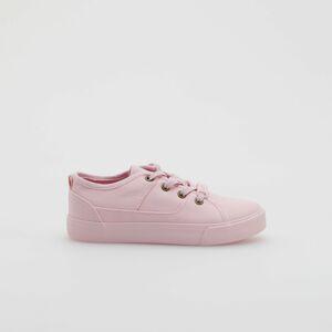 Reserved - Plátěné tenisky - Růžová