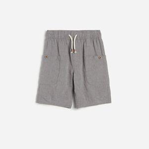 Reserved - Boys` shorts - Šedá