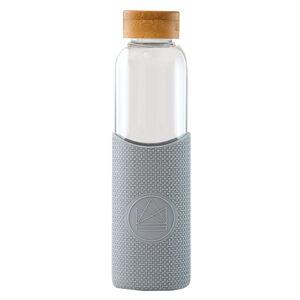 Neon Kactus, skleněná láhev, 550 ml, šedá, GB02