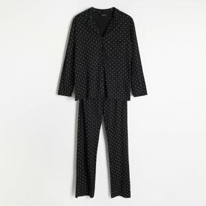 Reserved - Dámské pyžamo - Černý