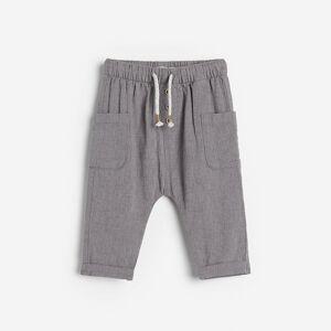 Reserved - Boys` trousers - Šedá