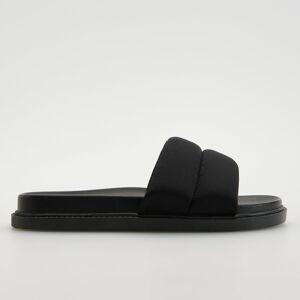 Reserved - Ploché pantofle - Černý