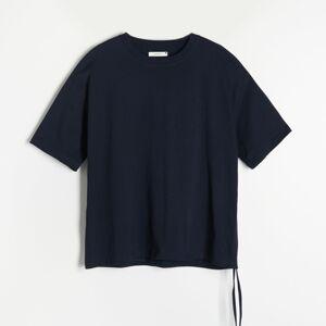Reserved - Ladies` blouse - Tmavomodrá