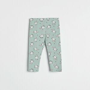 Reserved - Girls` trousers - Tyrkysová