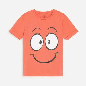 Reserved - Bavlněné tričko spotiskem - Červená