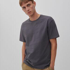 Reserved - Bavlněné tričko basic - Modrá