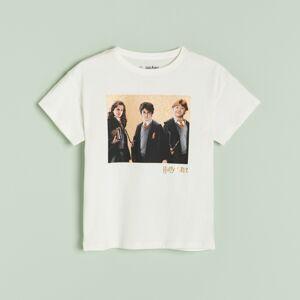 Reserved - Tričko s potiskem Harry Potter - Bílá