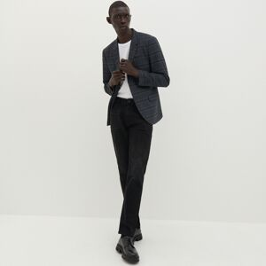 Reserved - Men`s jeans trousers - Černý