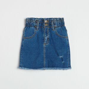 Reserved - Džínová sukně - Modrá