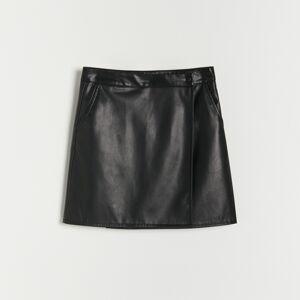 Reserved - Girls` skirt - Černý