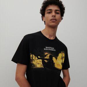 Reserved - Tričko smotivem Matrix - Černý