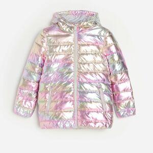 Reserved - Stříbrná prošívaná bunda - Vícebarevná
