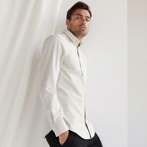 Reserved - Bavlněná košile - Světle šedá
