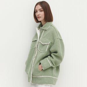 Reserved - Ladies` jacket - Tyrkysová
