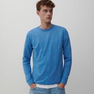 Reserved - Halenka basic sdlouhými rukávy - Modrá