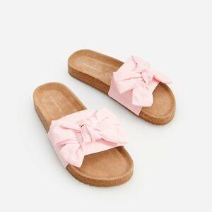 Reserved - Dámské sandále - Růžová