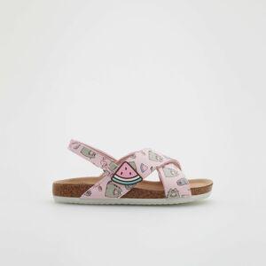 Reserved - Girls` sandals - Růžová