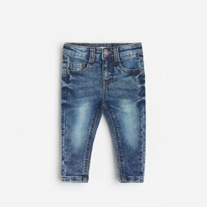 Reserved - BABIES` JEANS TROUSERS - Modrá