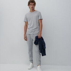 Reserved - Men`s trousers - Světle šedá