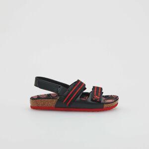 Reserved - Men`s sandals - Černý