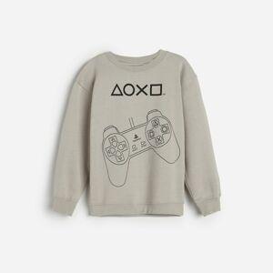 Reserved - Mikina svysokým podílem bavlny PlayStation - Bílá