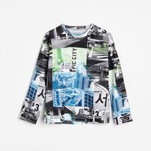 Reserved - Tričko s fotografií - Bílá