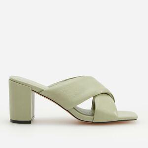 Reserved - Dámské pantofle - Zelená